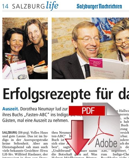 Salzburger Nachrichten - 19/03/2010