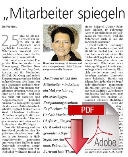Salzburger Nachrichten - 10/2008