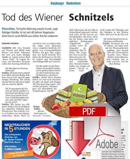 Salzburger Nachrichten - 10/2011