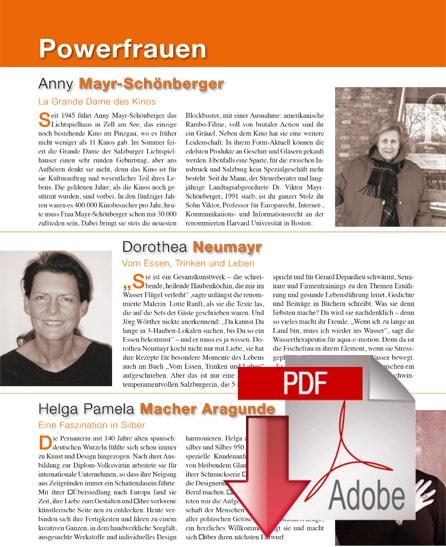 Powerfrauen - Die Salzburgerin
